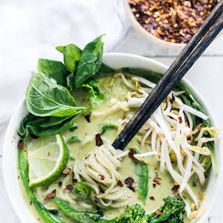 Thai Coconut Green Curry Soup Recipes.