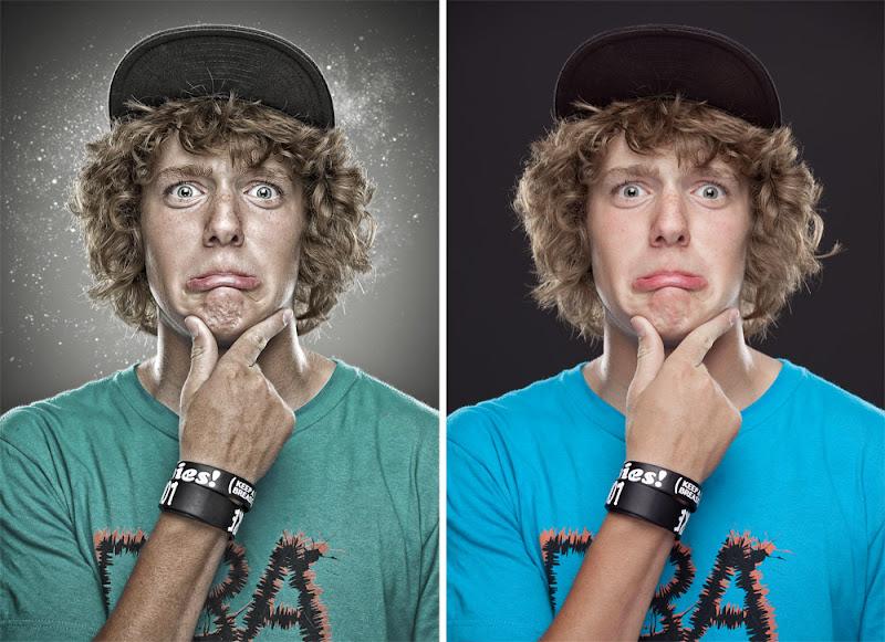 Photo: Mind Blowing - Retouch Comparison