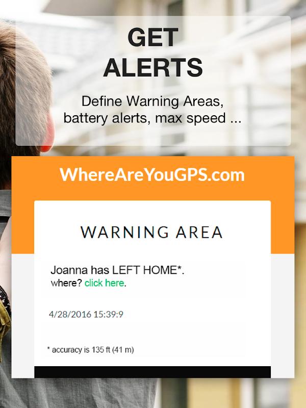 Family Locator, GPS Tracking, WhereAreYouGPS.com screenshots