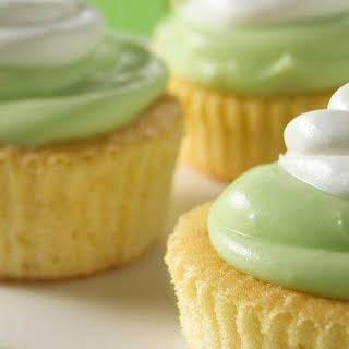 Mini Key Lime Cupcakes.