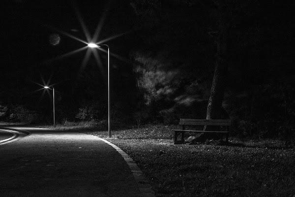 Panchina solitaria di cs