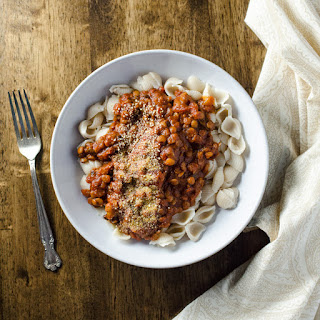 Rice Cooker Vegan Lentil Bolognese.