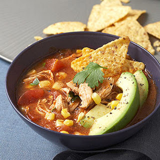 Mexican-Style Chicken Soup.