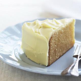 White Chocolate Mud Cake.