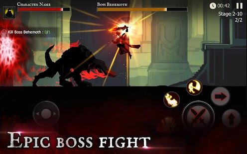 Shadow of Death: Dark Knight - Stickman Fighting google play ile ilgili görsel sonucu