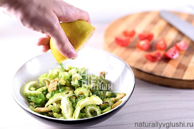 Салат с сельдереем, оливками и помидорами | Блог Naturally в глуши