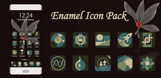 Enamel Icons - Icon Pack APK