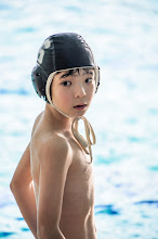 """Photo: This photo appeared in an article on my blog on Feb 17, 2013. この写真は2月17日ブログの記事に載りました。 """"Elementary-School Water Polo"""" http://regex.info/blog/2013-02-17/2212"""