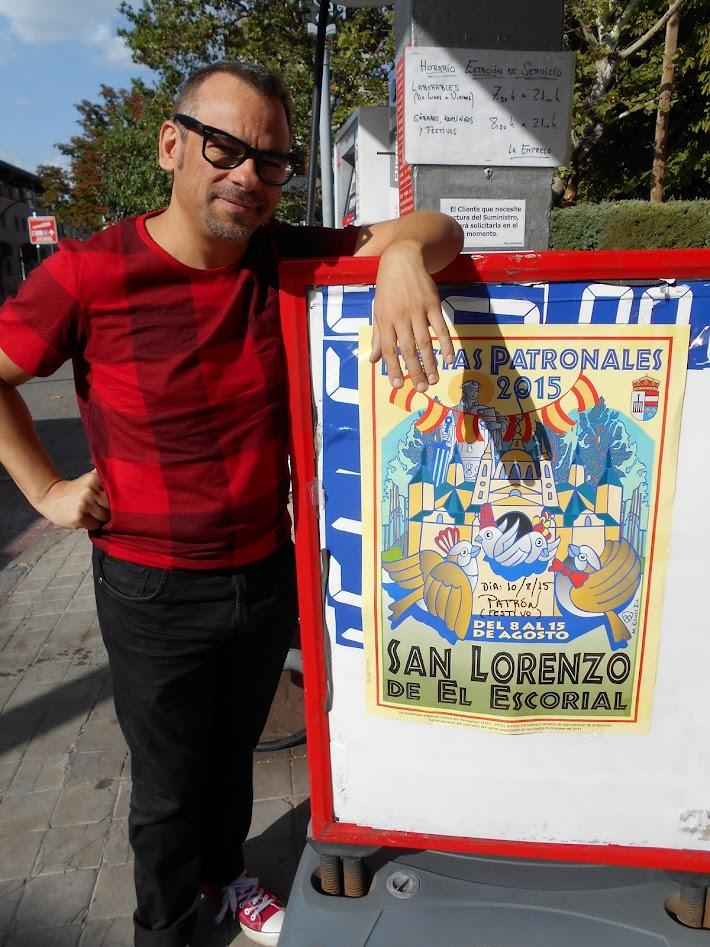 Alfonso V cartel fiestas magia El Escorial 2015