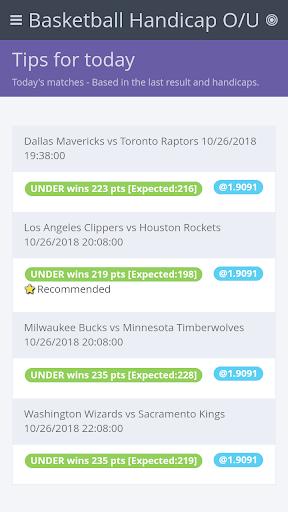 Download BasketBall Handicap o/u MOD APK 2