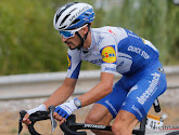Julian Alaphilippe won in de tweede etappe nog van Hirschi maar kwam nu tekort