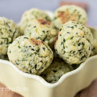 Delectable Spinach Zucchini Bites for an Easy Party Snack