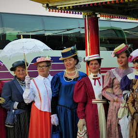 Folk custom by Alen Zita - People Musicians & Entertainers ( old, vinkovci, croatia, costume, custom )