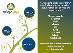 Photo: Village Yoga Powell Promotional Card (Front)