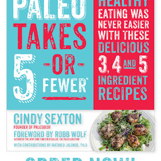 Paleo Takes 5 -or- Fewer's Chunky Beef Chili