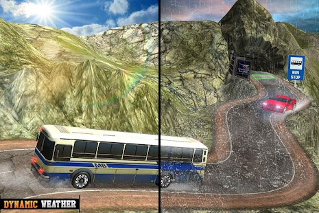 Offroad Bus Highway Driving: Bus Driving Games - náhled
