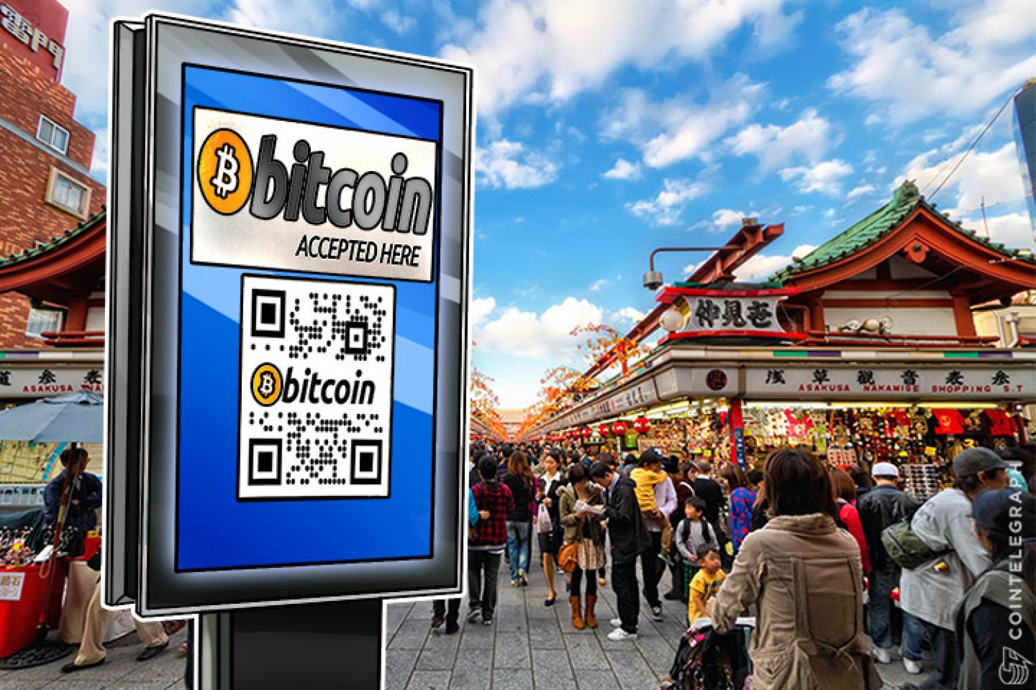 Bitcoins accepted in China