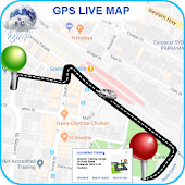 GPS Driving Route Maps & Navigation - Earth Map