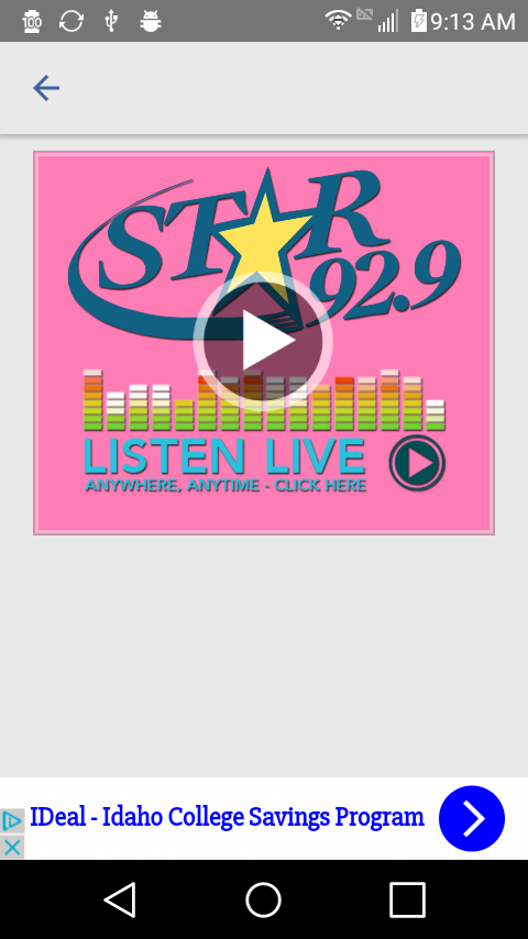 Star 92.9- screenshot