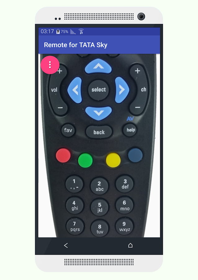 Remote for Sky India -NOW FREE- screenshot