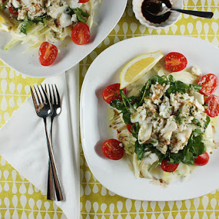 Fennel, Tomato, Watercress, and Flaked Fish Salad