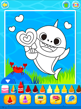 Download Pinkfong Baby Shark Coloring Book Apk Latest Version App