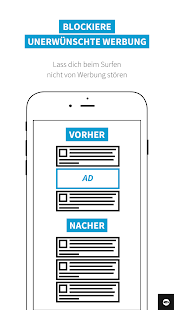 Adblock Browser für Android Screenshot
