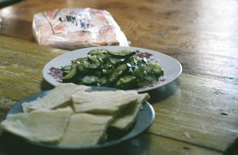 Photo: 03512 経棚郊外/克什克謄旗の旗長の歓迎パーティー/食事