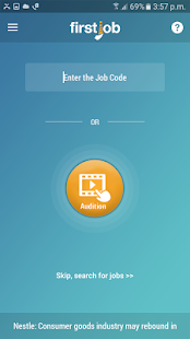 FirstJob - Freshers job app- screenshot thumbnail