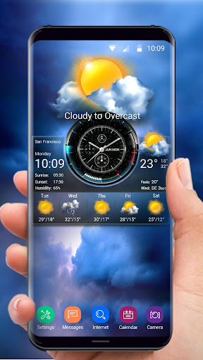 Weather Widget on Home Screen  screenshots 3