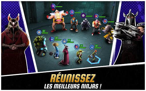 Télécharger Gratuit Ninja Turtles: Legends APK MOD (Astuce) screenshots 1
