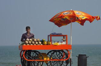 Photo: On The Board (cement) Walk Pondicherry Tamil Nadu