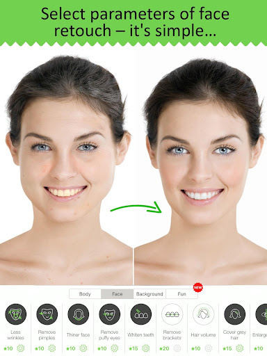 Retouch Me: body & face Editor for Beauty Photo 3.16 screenshots 6