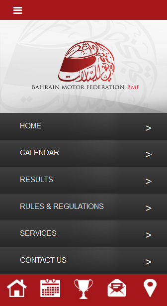 Bahrain Motor Federation - BMF- screenshot