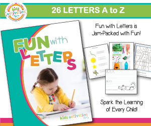 Fun with Letters ad