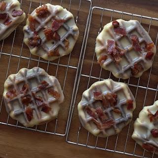 Maple Bacon Waffle Donuts.