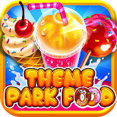 Theme Park Fair Food Maker - Candy Pizza Kids Game