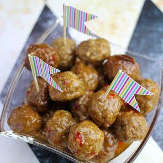 Thai Meatball Appetizer.