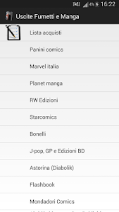 Uscite Fumetti e Manga screenshot 0