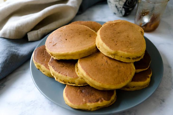 Easy Pumpkin Spice Pancakes Recipe