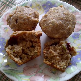 Cranberry Pumpkin Spice Muffins (vegan Friendly)