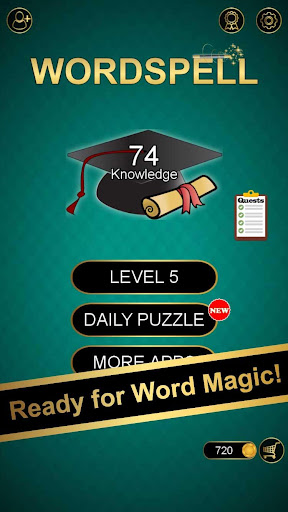 Word Spell - Brain Trek Puzzle APK MOD (Astuce) screenshots 1