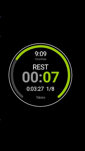 TimeWear Interval Timer