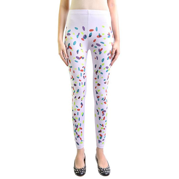 Candy Confetti #3 Leggings by STH Creative S/B