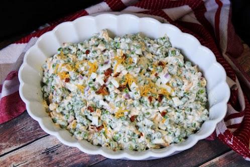 Old Fashioned Pea Salad