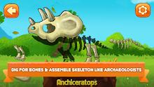 Dino Farm - Dinosaur games for kids screenshot 1