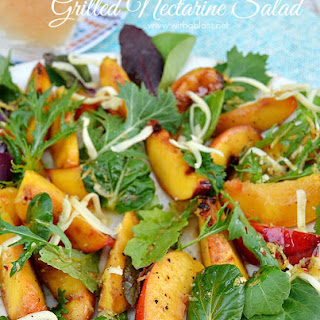 Grilled Nectarine Salad.