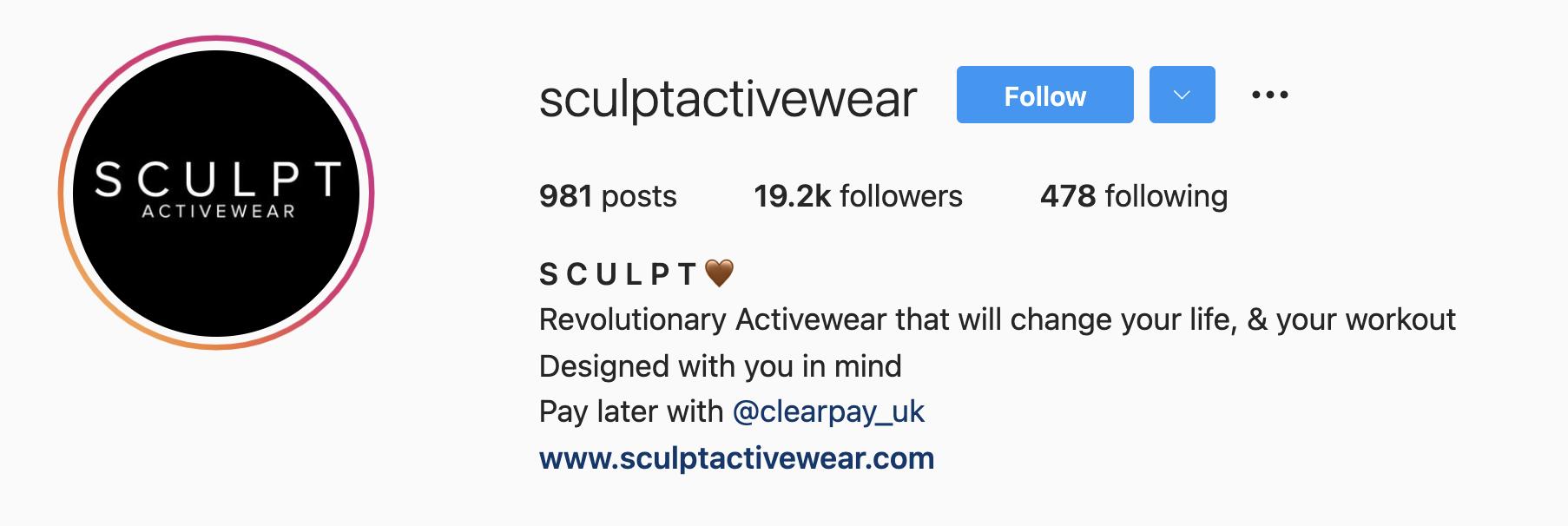 how to optimize instagram bio