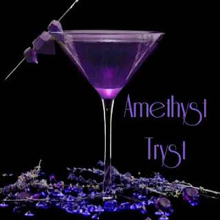 Amethyst Tryst - Lavender Martini Recipe