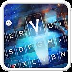Nebula Galaxy Keyboard Theme Icon